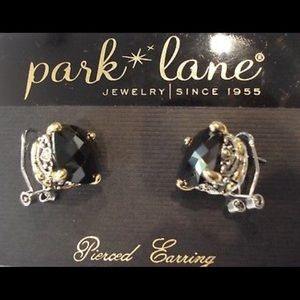 Park Lane Black Signature Clip Earrings